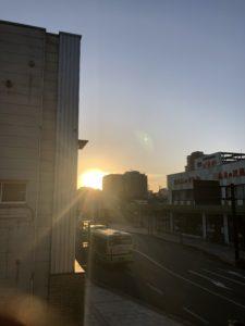今朝の通町